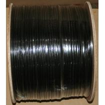 Cable Utp Cat5e P/ Exteriores Color Negro Cal. .50 300 Mts.