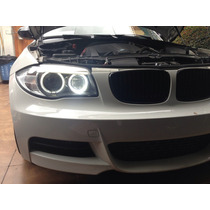 Angel Eyes Blancos Para Bmw Foco H8 Leds