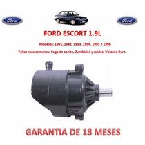 Bomba Direccion Hidraulica Licuadora P/ Caja Ford Escort Au1