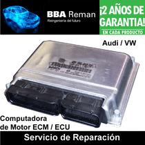 Audi Vw Bosch Me7 Computadora Modulo Ecm Ecu Pcm Reparacion