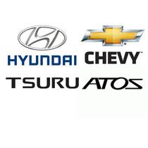 Lote Refacciones Autos Marcas Atos Chevy Tsuru Platina