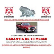 Caja Direccion Hidraulica Sinfin Dodge Ram, Ramcharger Omm