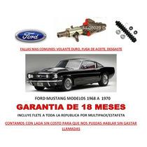 Valvula Y Cubrepolvo Direccion Hidraulica Ford Mustang Sp0
