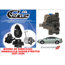 Bomba De Direccion Hidraulica Stratus 2001-2006
