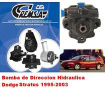 Bomba De Direccion Hidraulca Remanufacturada, Dodge Stratus