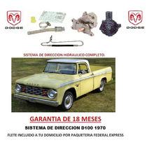 Sistema Completo Direccion Hidraulica Dodge D100 1970