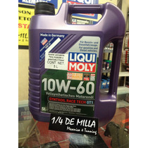 Aceite Liqui Moly Sintetico 10w-60 Race Tech Gt1 Garrafa 5l.