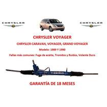 Caja Direccion Hidraulica Cremallera Caravan Voyager Au1