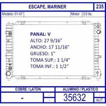 Radiador Ford Escape 3.0 2001 2002 2003 2004 2005 2006 2007