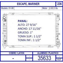 Radiador Ford Escape 2.0 / 2.3 Lts 2001 2002 2003 2004 2005