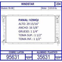 Radiador Ford Windstar Motor 3.0 Lts 1995 1996 1997 1998