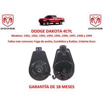 Bomba Licuadora Direccion Hidraulica P/caja Dodge Dakota Pm0