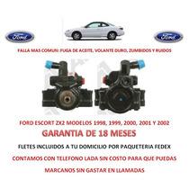 Bomba Direccion Hidraulica Licuadora P/ Caja Ford Escort Zx2