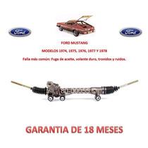 Caja Direccion Hidraulica Cremallera P/bomba Ford Mustang