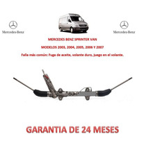 Caja Dirección Hidráulica Cremallera Mercedes Benz Sprinter