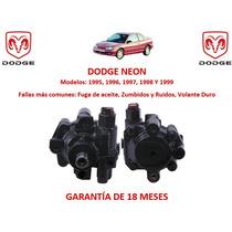 Bomba Licuadora Direccion Hidraulica Dodge Neon 1998