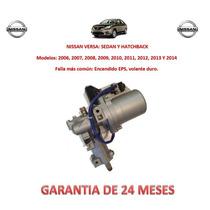 Columna Dirección Electro Asistida Eps P/caja Nissan Versa