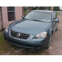 Partes Y Refacciones Nissan Altima 2002 -2006 Motor 2.5