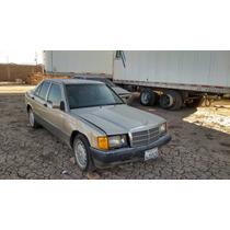 Desarmo Vendo Partes Mercedes 190e Baby, Aut.4 Cil 1984