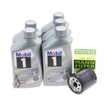 Aceite Sintetico Mobil 1 5w-30,0w-40 Envase De 946 Ml.