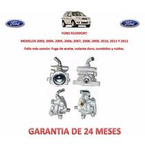 Bomba Licuadora Direccion Hidraulica Caja Ford Ecosport Au1