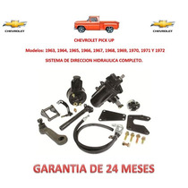 Kit Dirección Hidráulica Completo Original Chevrolet Pick Up