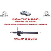 Caja Direccion Hidraulica Cremallera Honda Accord 4cyl 1993