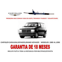 Caja Direccion Hidraulica Cremallera Chrysler Caravan 89-90