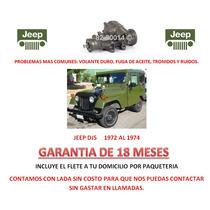 Caja Direccion Hidraulica Cremallera P/ Jeep Dj5 72-75 Lbf