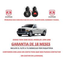 Bomba Licuadora Direccion Hidraulica Dodge Ram 3500 Diesel