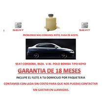 Deposito P/ Bomba Direccion Electrohidraulica Seat Cordoba