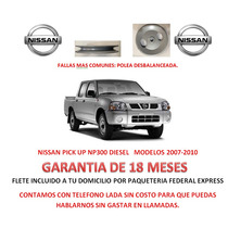 Polea P/ Bomba Caja Direccion Hidraulica Nissan Np300 07-10