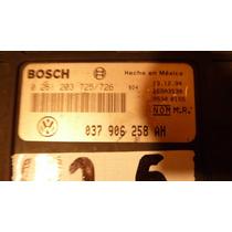 95 96 Computadora De Motor Jetta - Golf 037 906 258 Ah