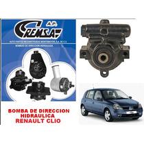 Bomba De Dir. Hidraulica/licuadora Remanu. Renault Clio