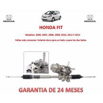 Caja Cremallera Dirección Electro Asistida Honda Fit 2007