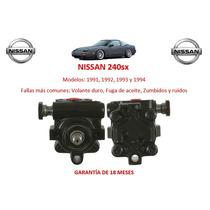 Bomba Direccion Hidraulica Caja Cremallera Nissan240sx 91-94
