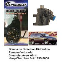 Bomba De Direccion Licuadora Jeep Cherokee 6cil 1995-2000