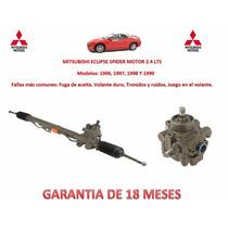 Bomba Y Caja Direccion Hidraulica Mitsubishi Spyder 2.4 Lts.