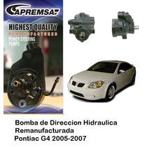 Bomba De Direccion Licuadora G4 Pontiac 2005-2007