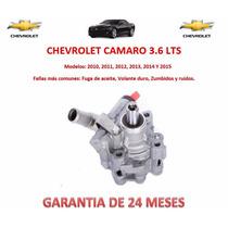 Bomba Licuadora Direccion Hidraulica Chevy Camaro 3.6 2014