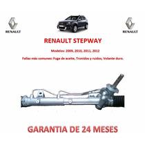 Caja Direccion Hidraulica Cremallera P/bomba Renault Stepway