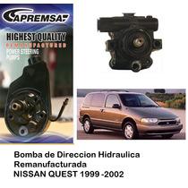 Bomba De Direccion Licuadora Nissan Quest 1997-2002