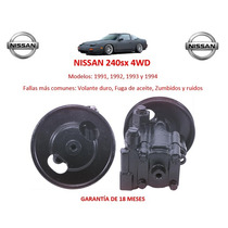 Bomba Licuadora Direccion Hidraulica Nissan 240sx 4wd 1991