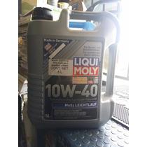 Aceite Mos2-leichtlauf Sae 10w-40 5lt De Liqui Moly
