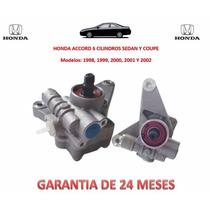 Bomba Licuadora Direccion Hidraulica Honda Accord 6 Cil Omm