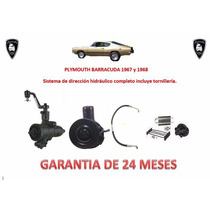 Kit Direccion Hidráulico Original Plymouth Barracuda 67 Y 68