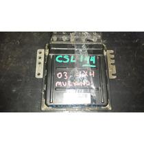 Ecm Ecu Pcm Computadora Modulo 03 Nissan Murano Mec31-140 Eq