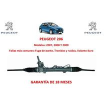 Caja Direccion Hidraulica Cremallera Peugeot 206 07-09
