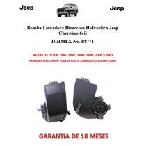 Bomba Licuadora Dirección Hidráulica Jeep Cherokee 6cil