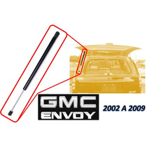 02-09 Gmc Envoy Piston Hidraulico Vidrio Trasero Izquierdo